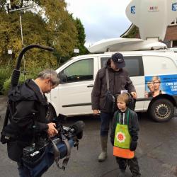 Interview de Remi MORTREUX par l'équipe de  France 3